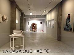 La casa que habito, Galería Adora Calvo, Salamanca, 2013. Photo: Araceli Corbo